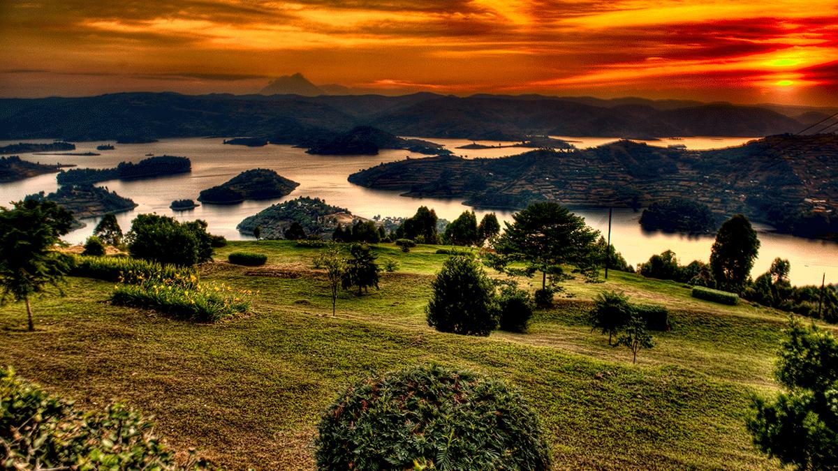Lake Bunyonyi - Arcadia Lodges - Bunyonyi